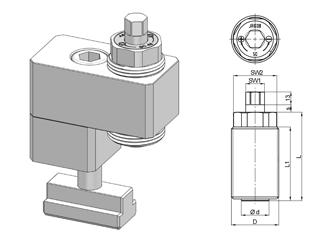 Mechanische Kraftspannschrauben Reihe SC