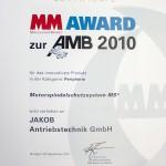 Auszeichnungen JAKOB Antriebstechnik