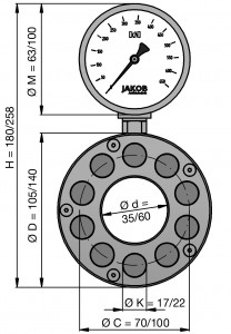 Hydraulisches Kraftmeßsystem HMD
