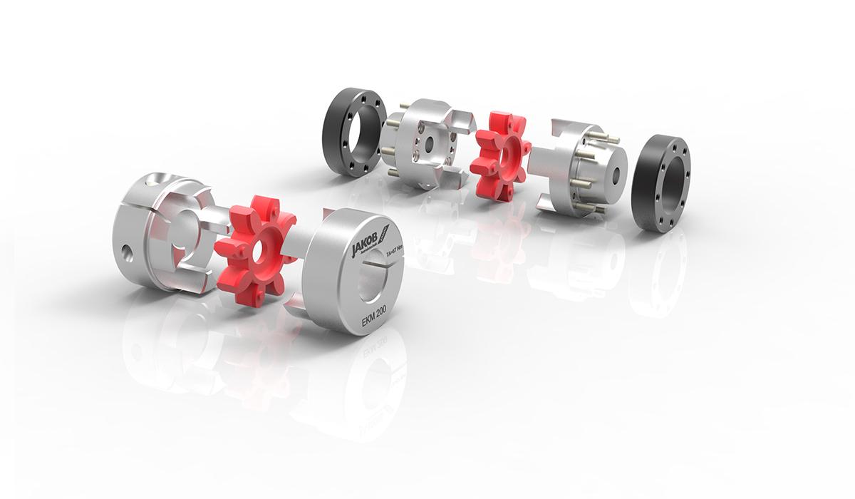 Elastomerkupplungen Standardbaureihen