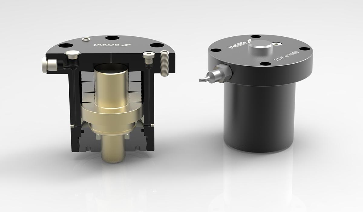 Spanntechnik hydromechanisch, Federdruckzylinder