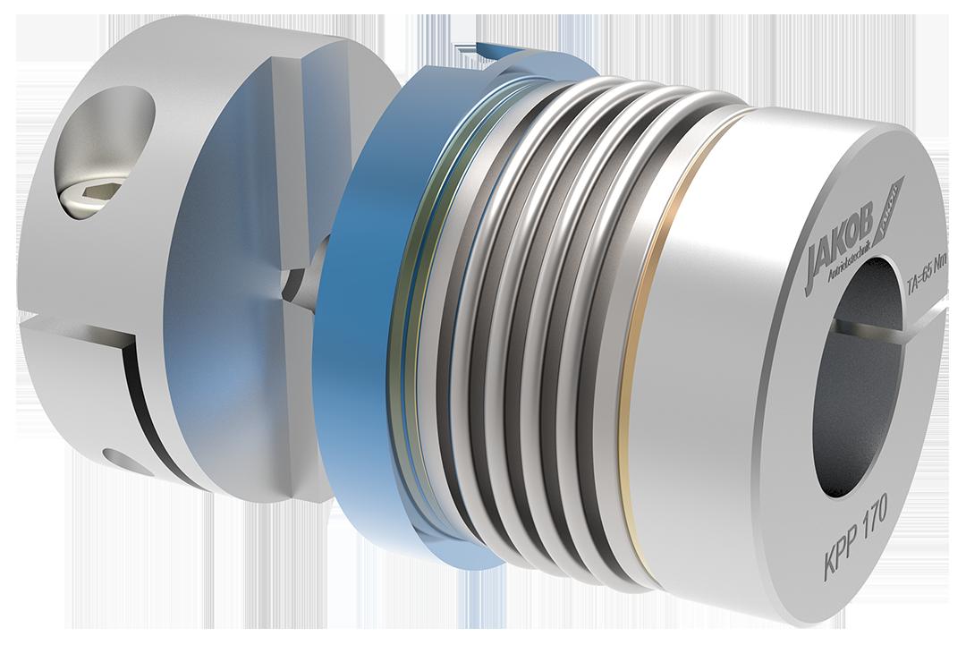 Metallbalgkupplung KPP