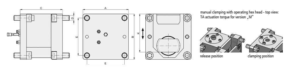 sectional rail coupling type PKV