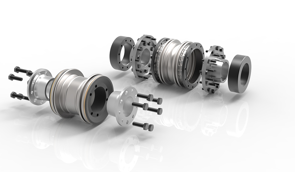 metal bellows couplings KSS & KXL