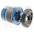 Metallbalgkupplung KPP-F 140