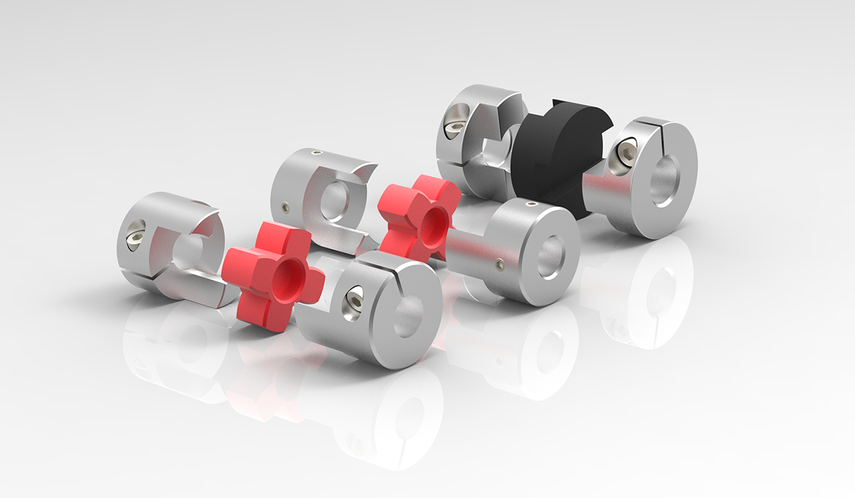 miniature couplings, elastomer couplings
