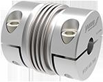 Metal bellows couplings
